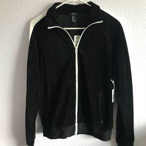 Brand new velvet track jacket